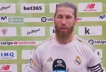 Sergio Ramos dijo que si son campeones, no será por los árbitros