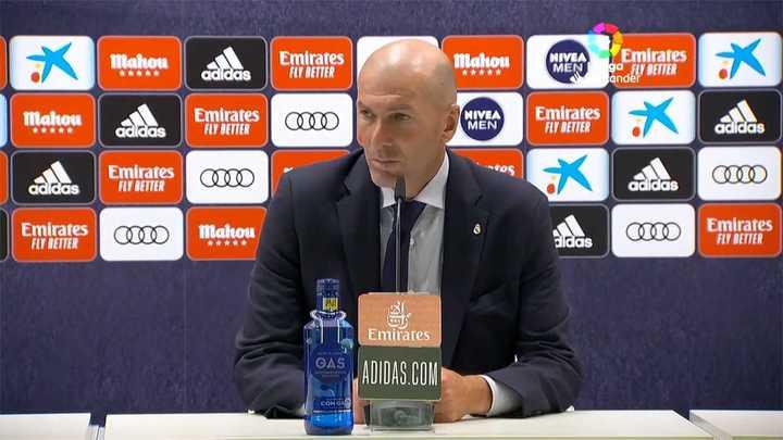 Zidane sobre la renovación de Messi