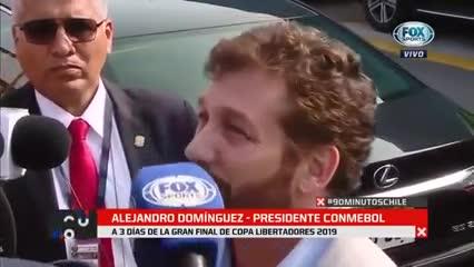 La palabra de Alejandro Domínguez sobre la final en Lima