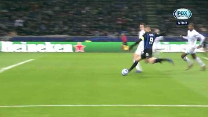 Icardi se perdió el empate