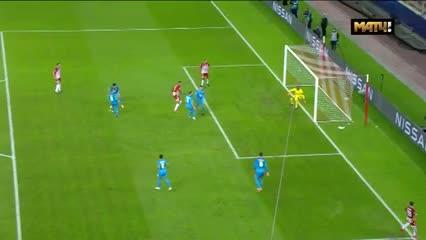 Olympiacos le ganó 1 a 0 al Olympique de Marsella
