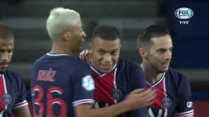 PSG goleó 4 a 0