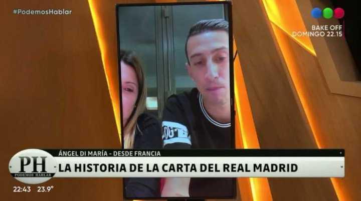 La historia de la carta que le mandó Real Madrid a Di María antes de la final del Mundial 2014