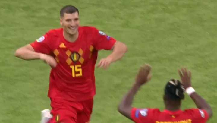 El segundo de Bélgica ante Kazajistán