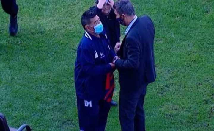 Maradona habló y elogió a Tinelli