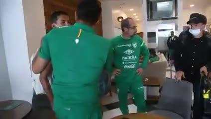 Jugadores abandonan la concentración de la selección de Bolivia