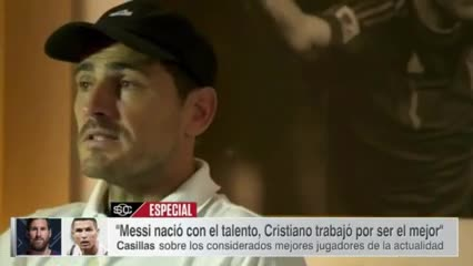 Casillas sobre Messi y Ronaldo