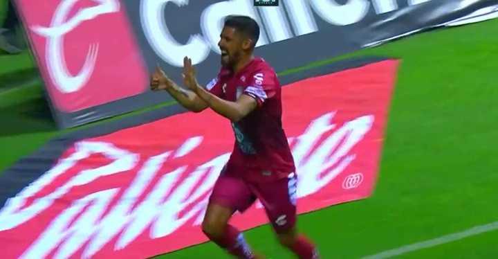 Franco Jara se anotó en México