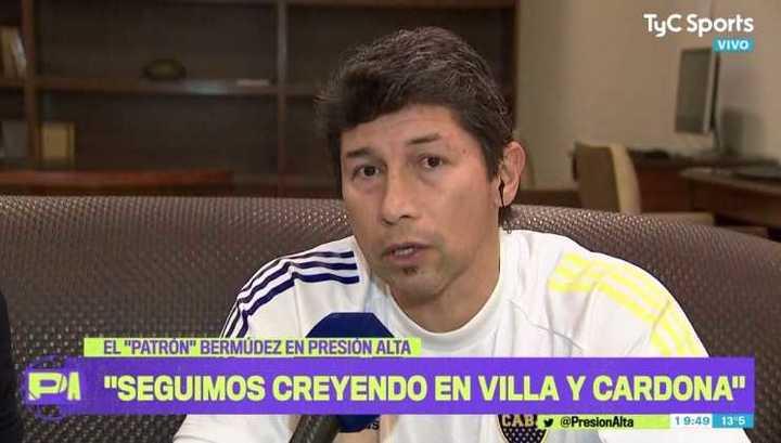 """Bermùdez afirmó que """"Villa es responsable de su situación"""""""