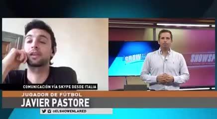 Pastore se refirió a la posible llegada de Cavani a Boca