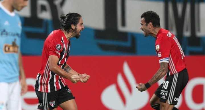 El gol de Benítez para San Pablo