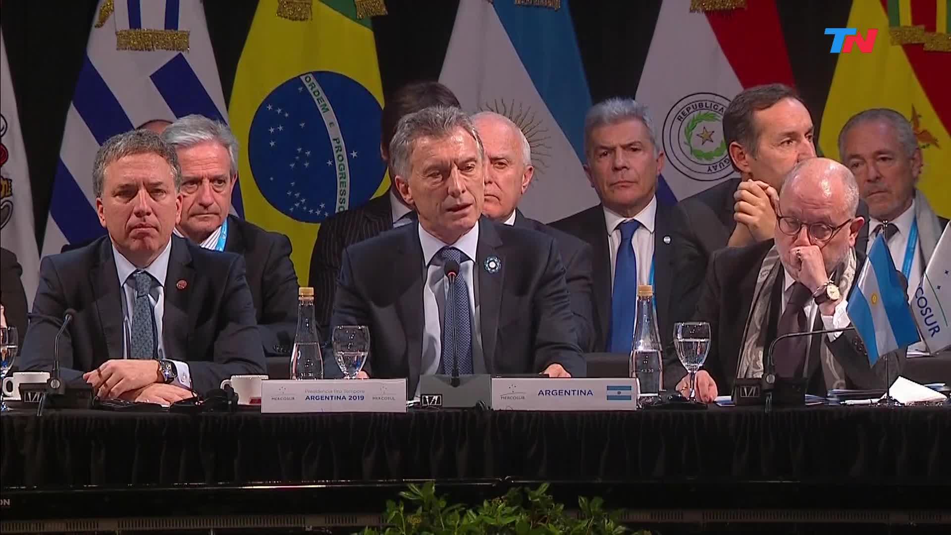 """Resultado de imagen para Macri: """"Maduro debe cesar con las violaciones de los Derechos Humanos"""""""